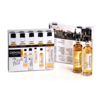 Collection of white wine minis packs