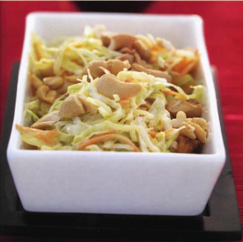 Salade de choux asiatique